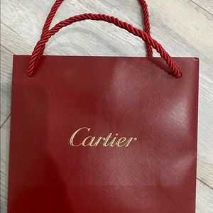 Cartier bag (small bag only)